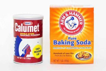 huid bleken met baking soda